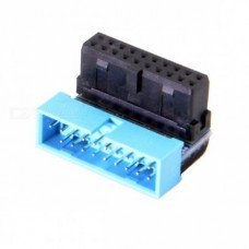 USB 3.0 20pin Male to Female Extension Adapter Dow...