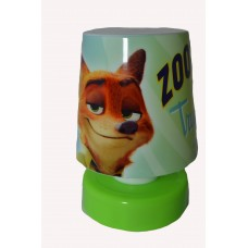 "Mini Bed/Desk Light Led ""Zootopia"" Green..."