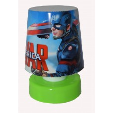 "Mini Bed/Desk Light Led "" Captain America&quo..."
