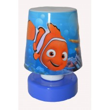"Mini Bed/Desk Light Led ""Nemo"" Blue Base..."