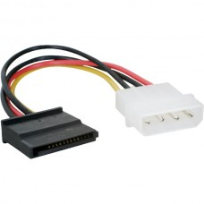 4 Pin IDE Male Molex to SATA Female HDD Power (17c...