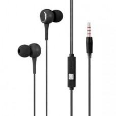 K28 In-ear Earphone with Mic (3.5mm) (Black) (OEM)