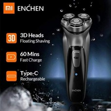 ENCHEN XIAOMI YOUPIN BLACK STONE 3D Rechargeable Electric Shaver (Silver)