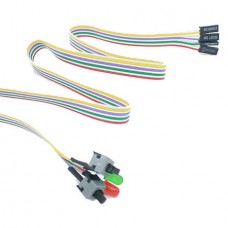 ATX PC Computer Motherboard Power Cable 2 Switch O...