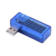 USB Current Voltage Tester Single Row Shows 3V-7V ...