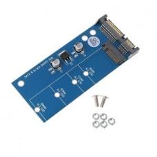 "2.5"" SATA III SSD to M2 SATA (NGFF) Adapter C..."