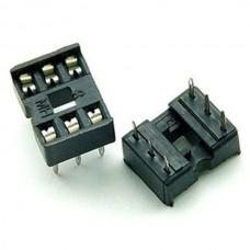 Dip IC Socket 6 Pin Adaptor Solder Type Pitch 2.54...