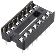 Dip IC Socket 14 Pin Adaptor Solder Type Pitch 2.5...