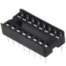 Dip IC Socket 16 Pin Adaptor Solder Type Pitch 2.5...