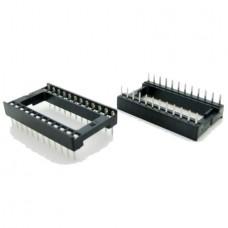 Dip IC Socket 24 Pin Adaptor Solder Type Pitch 2.5...