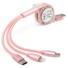 3-in-1 USB Telescope Cable with Lightning / Micro ...