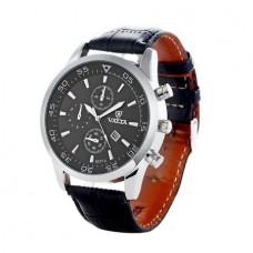 VALIA 8257 Analog Men's Quartz Watch Date Leathe...