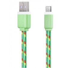 Nylon Braided Type C Data Transfer Sync Cable Char...