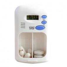 Smart Alert Medicine Case Storage Boxes Bins (Whit...
