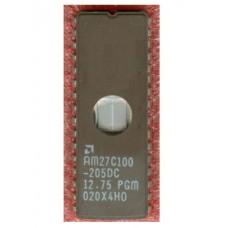 IC EPROM UV 1M AM27C100-205DC [CLEAN] DIP32CW AMD